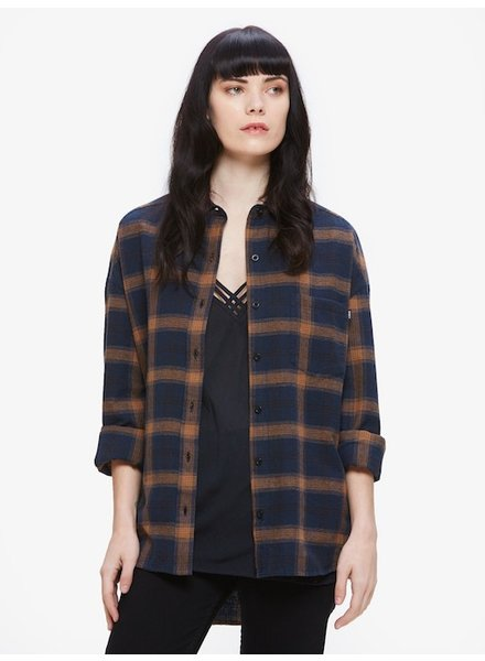 OBEY OBEY MONTAGUE BUTTON DOWN FLANNEL
