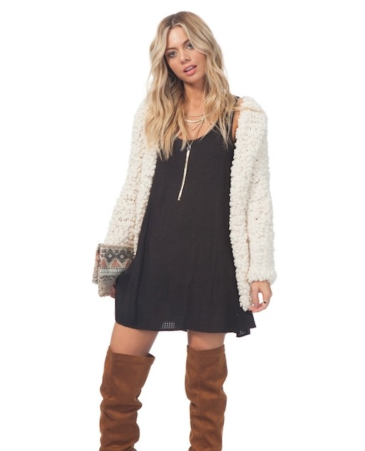 RIP CURL RIP CURL COZY UP SWEATER JACKET