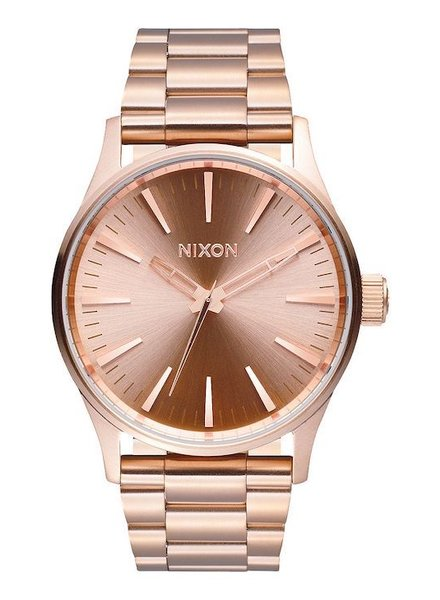 NIXON NIXON SENTRY 38 SS ALL ROSE GOLD