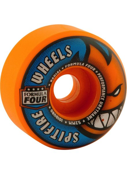 SPITFIRE CLASSIC 52MM HAZARD SWIRL SET OF 4