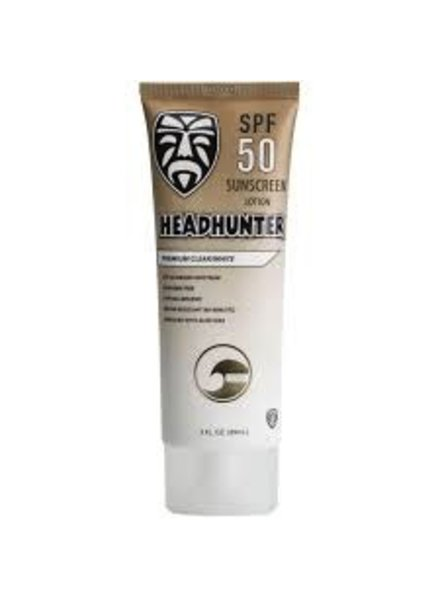 HEADHUNTER SUNSCREEN SPF 50 CLEAR