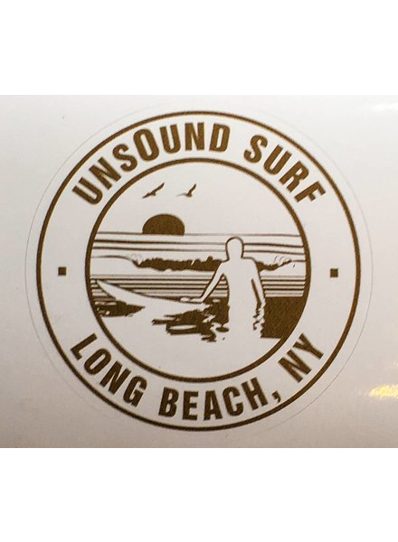 UNSOUND SURF UNSOUND SURF LB CIRCLE STICKER