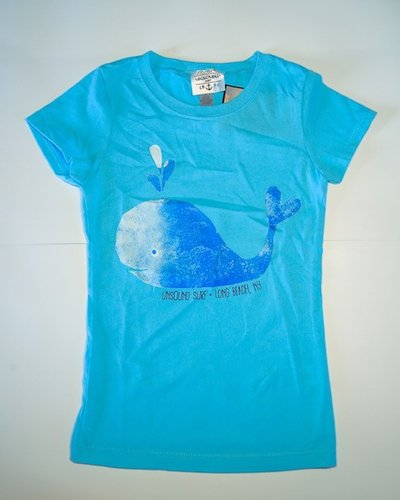 UNSOUND SURF UNSOUND SURF SPOUT IT OUT GIRLS TEE