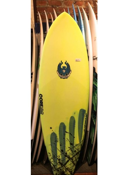 CANNIBAL 5'6 CANNIBAL SURFBOARD