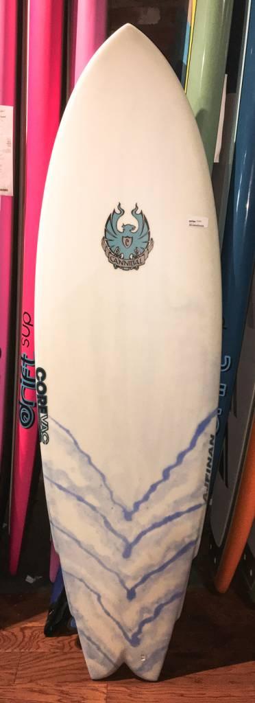 CANNIBAL 5'10 CANNIBAL SURFBOARD