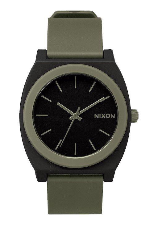 NIXON NIXON TIME TELLER  MATTE BLACK SURPLUS