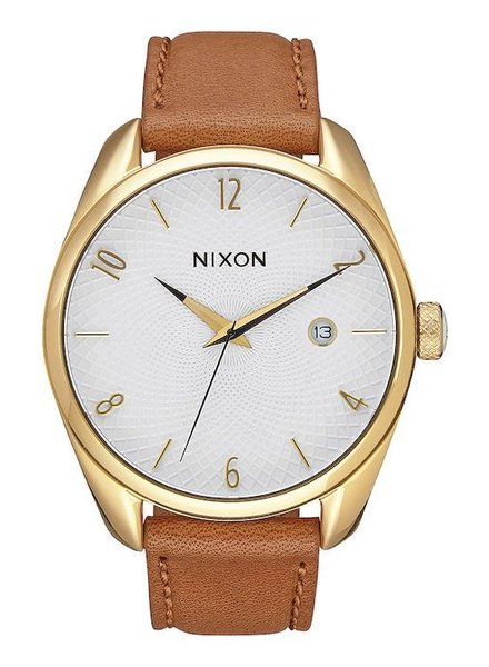 NIXON NIXON BULLET LEATHER GOLD/SADDLE