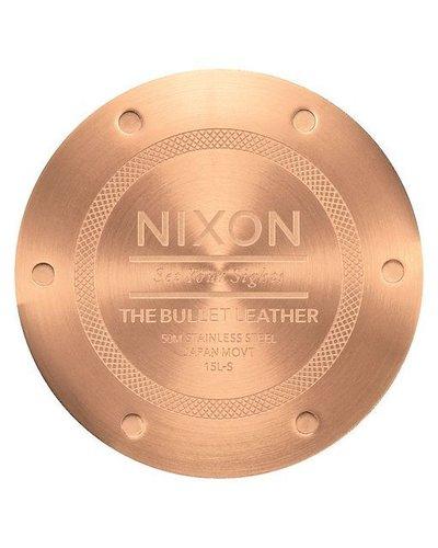 NIXON NIXON BULLET LEATHER GOLD/SADDLE