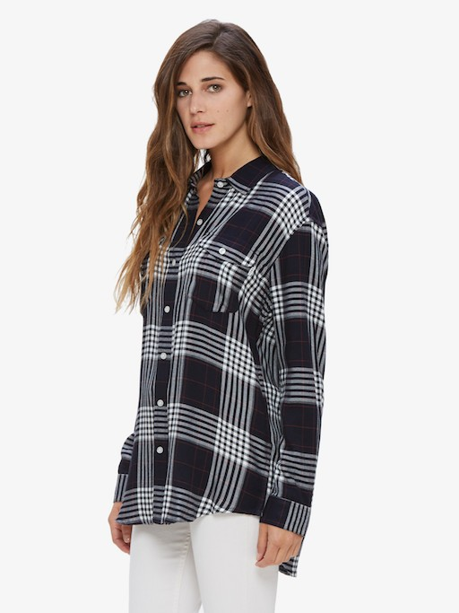OBEY OBEY CHELSEA BUTTON DOWN SHIRT