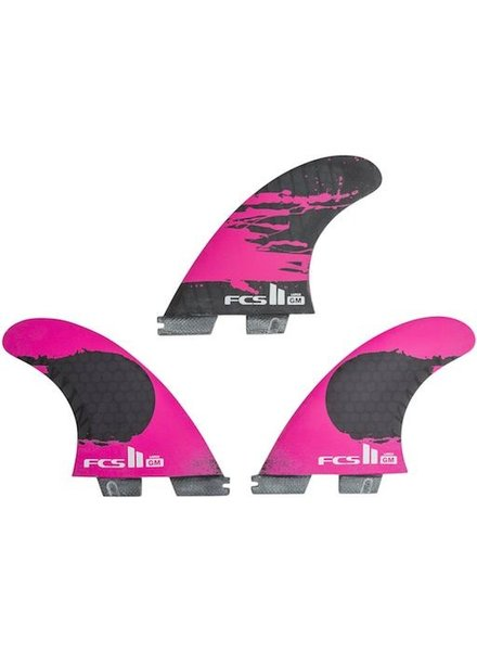 FCS FCS II GM PC CARBON LARGE TRI RETAIL FINS
