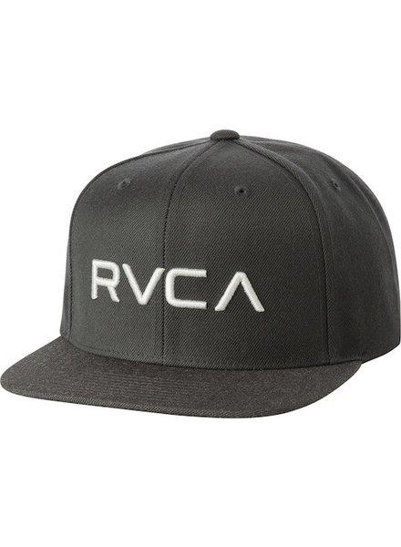 RVCA RVCA TWILL SNAPBACK