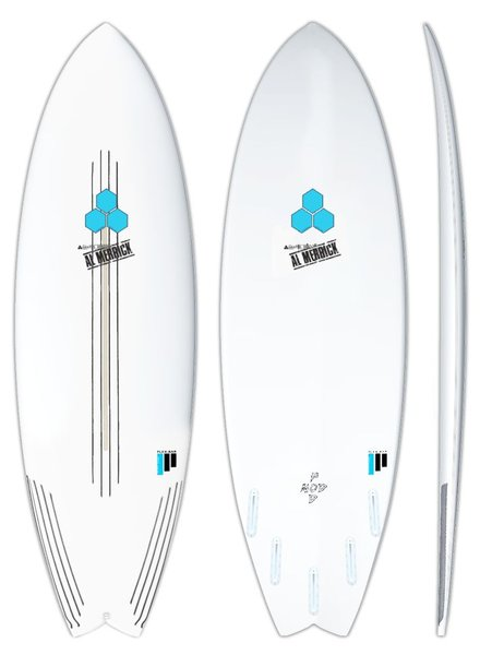 CHANNEL ISLANDS 5'8 CHANNEL ISLANDS POD MOD FLEXBAR  19 5/8 X 2 7/16  30L FUT5