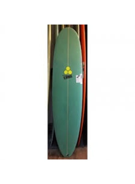 CHANNEL ISLANDS 8'6 CHANNEL ISLANDS WATERHOG 22 1/2 X 3  GREEN