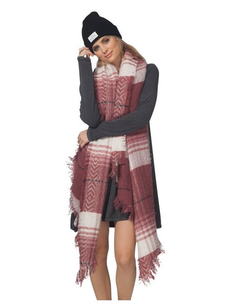 RIP CURL LONDON BLANKET SCARF
