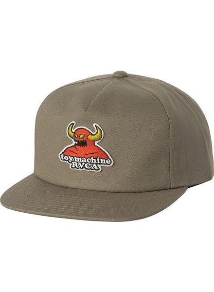 RVCA RVCA TOY MACHINE SNAPBACK HAT