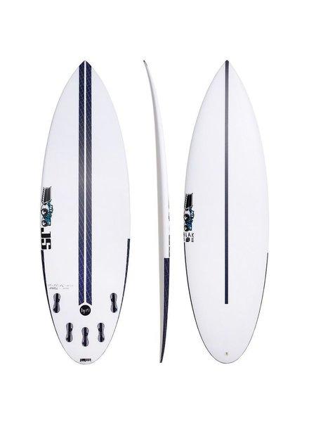 """JS SURFBOARDS Blak Box 2 Squash Tail HYFI 6' 0"""" x 20 1/4"""" x 2 1/2"""" x 32.5L - FCS II"""