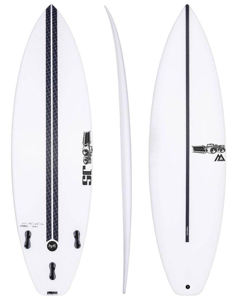 """JS SURFBOARDS Monsta Box Squash Tail HYFI  5' 10"""" x 19 1/4"""" x 2 3/8"""" x 28.1L - FCS II"""