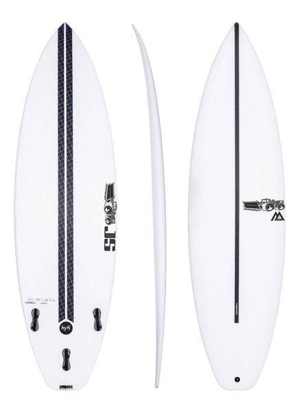 """JS SURFBOARDS Monsta Box Squash Tail HYFI  5' 8"""" x 18 3/4"""" x 2 5/16"""" x 25.8L - FCS II"""