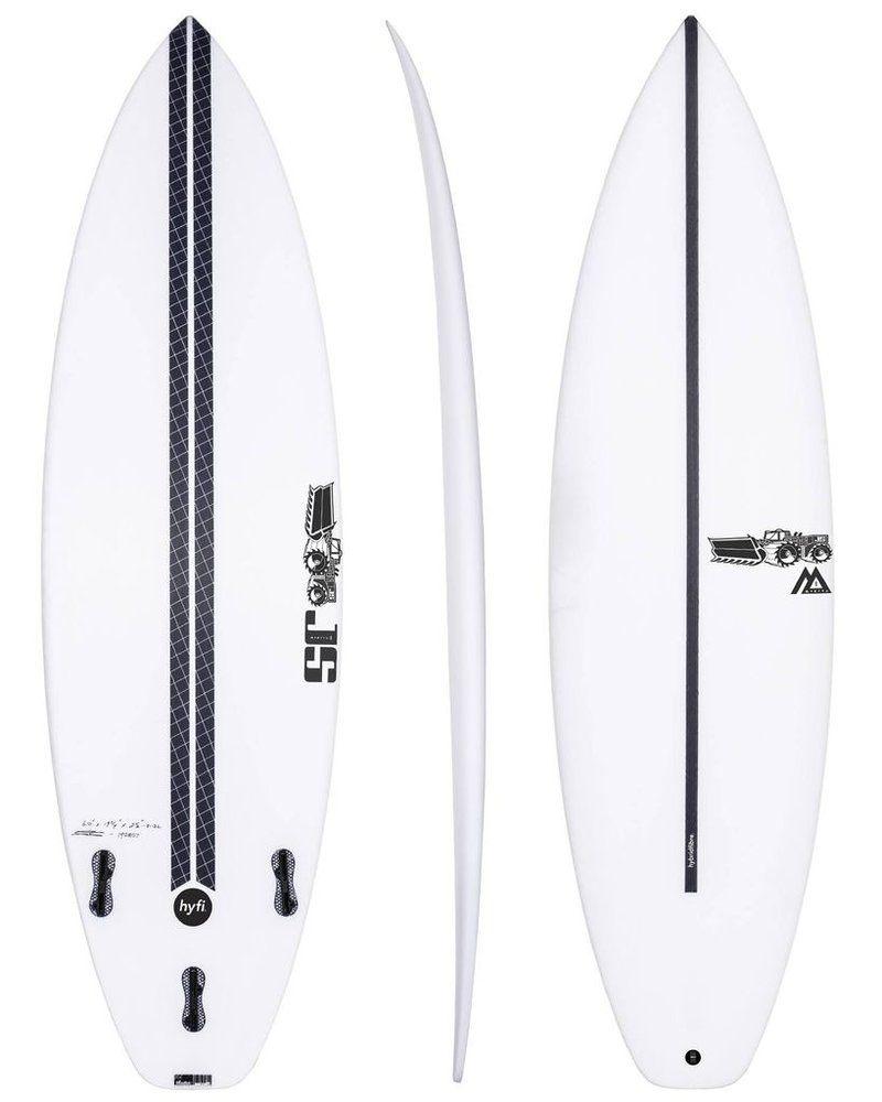 "JS SURFBOARDS Monsta Box Squash Tail HYFI  5' 8"" x 18 3/4"" x 2 5/16"" x 25.8L - FCS II"