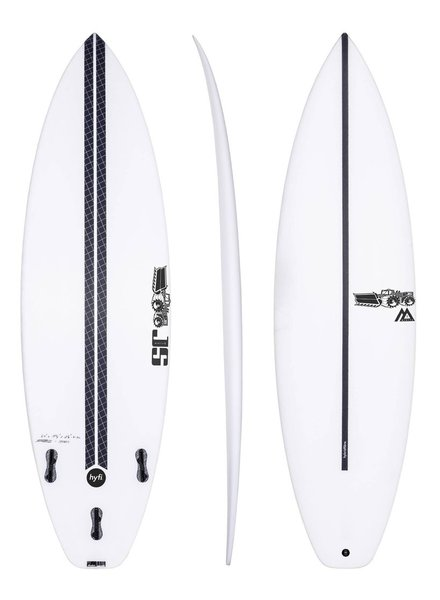 """JS SURFBOARDS Monsta 8 Squash Tail HYFI - 5' 11"""" x 18 3/4"""" x 2 3/8"""" x 27.4L - FCS II"""