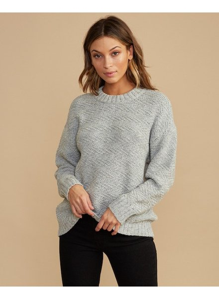 RVCA RVCA ZIGGED SWEATER