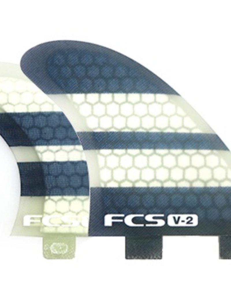 FCS V2 PC TRI-QUAD FIN SET