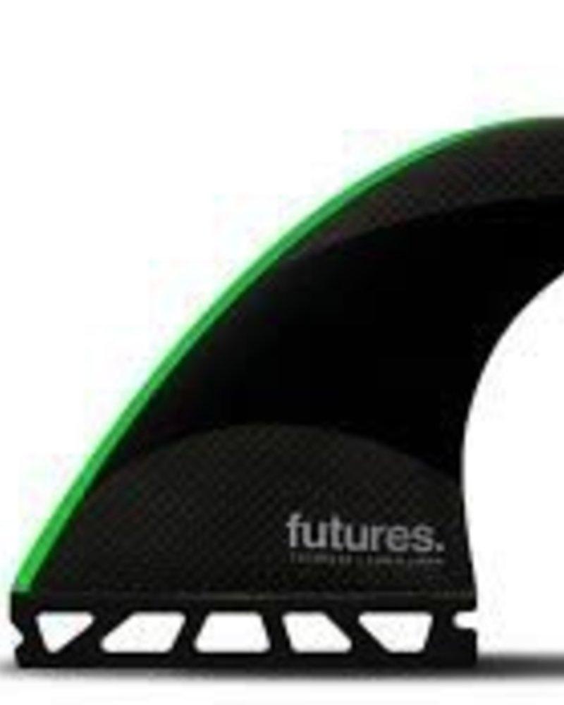 FUTURES FUTURES JJ-2 MEDIUM TECHFLEX THRUSTER BLK/BR RED