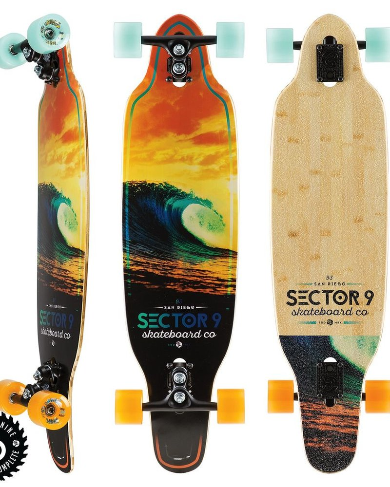 SECTOR 9 SECTOR 9 SCORCHER STRIKER COMPLETE 36.5'x9.5'