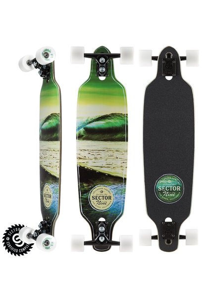 SECTOR 9 SECTOR 9 VERDE MINI FRACTAL COMPLETE 34'x8.75'