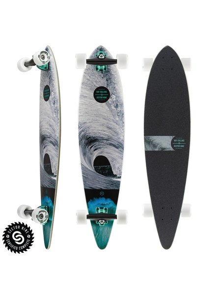 SECTOR 9 SECTOR 9 RAY COLLINS MERCHANT COMPLETE 38'x8.75'