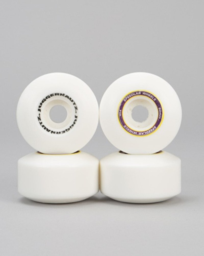 SPEEDLAB WHEELS 60MM/101A JUGGERNAUTZ -WHT