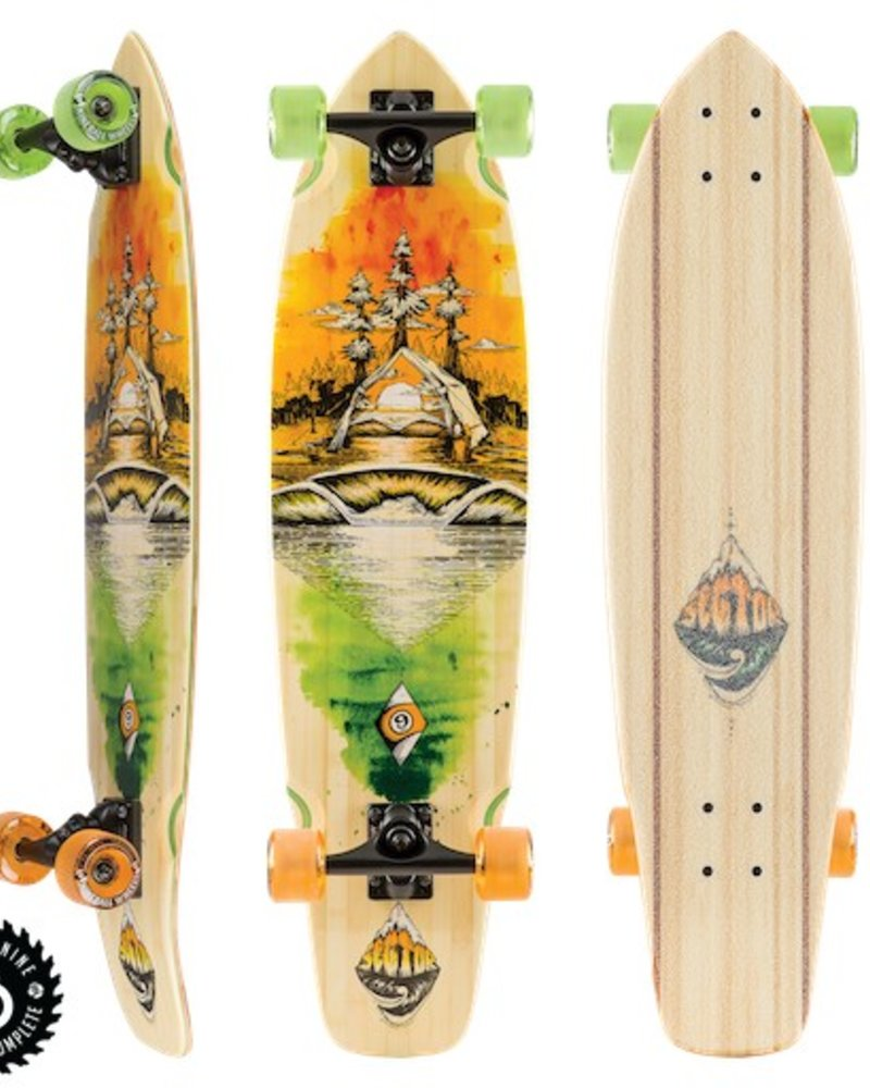SECTOR 9 SECTOR 9 ODYSSEY FT.POINT COMPLETE 34'x8.75'