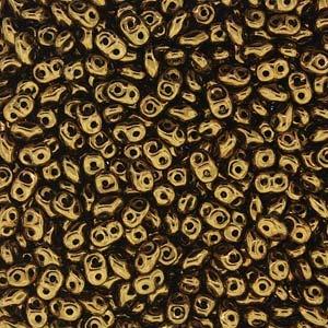 Czech Superduos, Lustre Gold, 25g