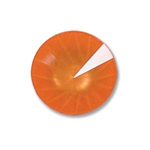Austrian Swarovski Rivoli, 14 mm, Ultra Orange
