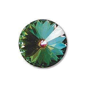 Austrian Swarovski Rivoli, 12 mm, Crystal Medium Vitrail