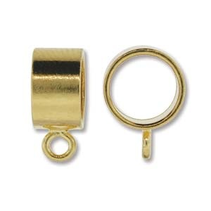 Helby 9.5 mm Kumi Bail, Gold Plated