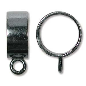 Helby Kumi Bail, 13 mm, Gunmetal Slide Bail