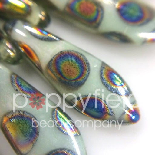 Czech Daggers, 5X15, White Peacock, 50 pcs