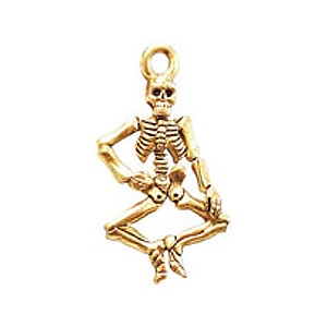 Full Skeleton, Gold Plate