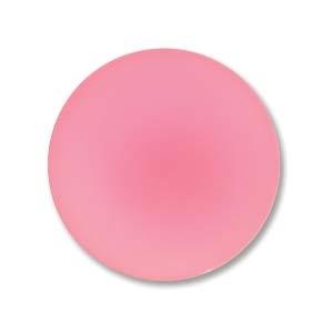 Luna soft resin cabochon, 18 mm, Watermelon