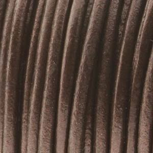 Helby LEATHER CORD, Metallic Maina, 1 MM, 1FT