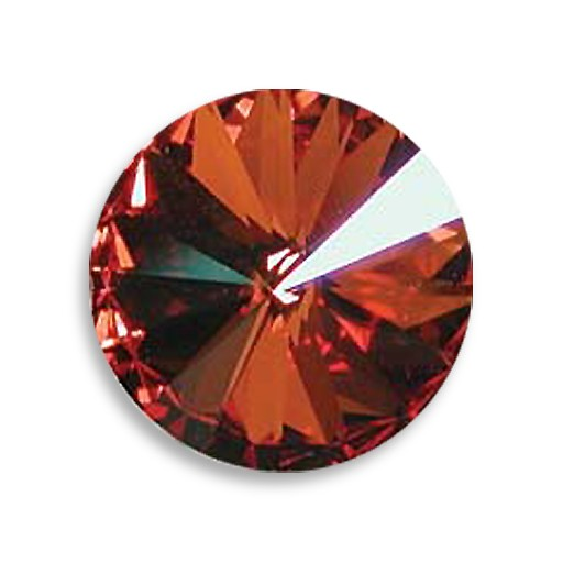 Austrian Swarovski Rivoli,18 mm, Crystal Chile Pepper