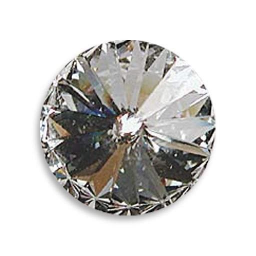 Austrian Swarovski Rivoli, 18 mm, Crystal