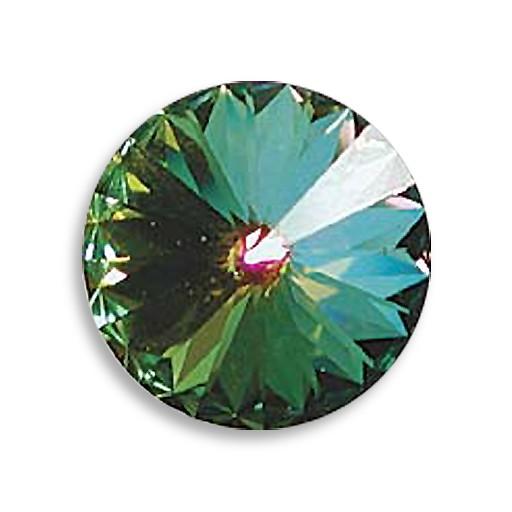 Austrian Swarovski Rivoli, 18 mm, Crystal Medium Vitrail