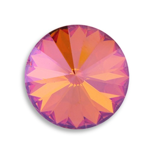 Austrian Swarovski Rivoli, 18 mm, Summer Blush