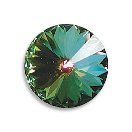 Austrian Swarovski Rivoli, 16 mm, Crystal Medium Vitrail