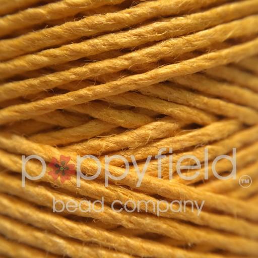 Hemp Cord, 20lb, Gold, 205 ft