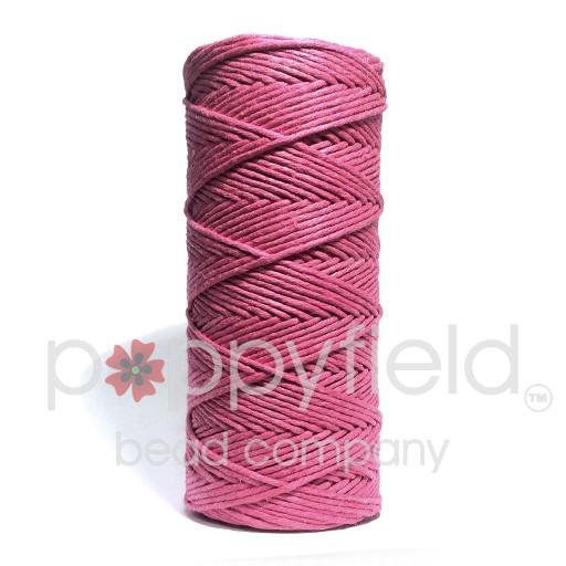 Hemp Cord, 20lb, Bright Pink, 205 ft