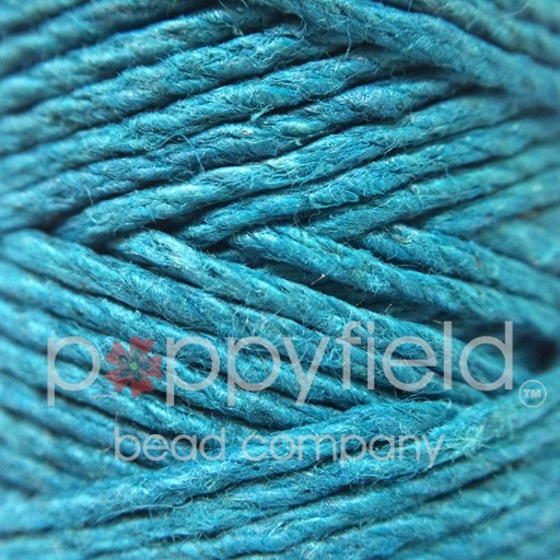 Hemp Cord, 20lb, Turquoise, 205 ft