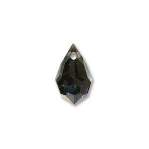 Czech Preciosa Crystal Drops, 6x10, Aurum, 4 pcs
